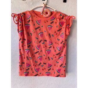 It's Our Time Watermelon, Cherry Short Sleeve Tee